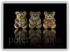 Bear Tins for Bentleys Confectionery Ltd for Historic Royal Palaces