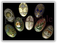 Faberge Egg Tins for Tin Box International